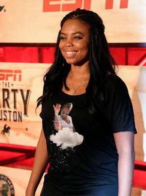 ESPN host Jemele Hill went on a Twitter tirade about Donald Trump.