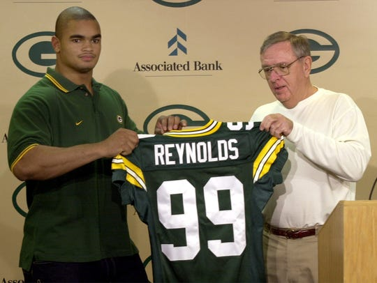 Green Bay Packers first-round draft pick, Jamal Reynolds,