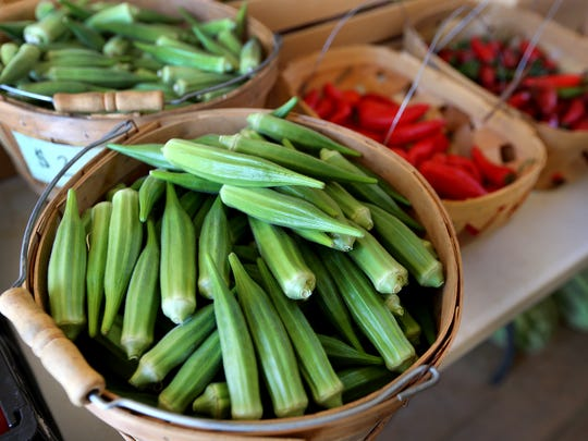 Fresh vegitables that have been harvested from the Journey Home garden are available for sale. Photo taken on Thursday, Sept. 8, 2016.