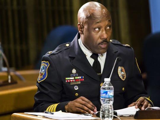 Wilmington Police Chief Bobby Cummings