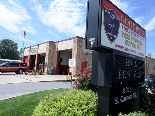 Friday, Aug. 18, 2017--Goodwill Fire Station No. 1 in York Township. Bill Kalina photo