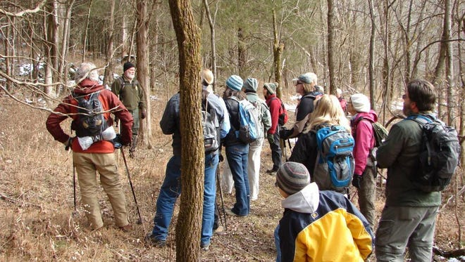 State park ranger Mark Taylor will lead a 2.5-mile hike Friday on the Millennium Trail in Edgar Evins State Park in Silver Point, about an hour from Nashville.