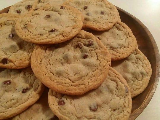 Kahlua Chocolate Chunk Cookies