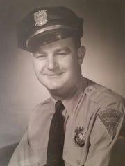 After the war Jack served as a police officer in Crestline.