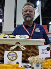 Joe Widmer of Widmer's Cheese Cellars, Theresa, likes the notion of sticking to tradition. His family's cheesemaking began in 1922.