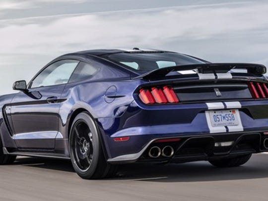 The 2019 Ford Mustang Shelby.