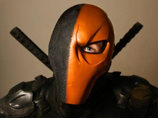 Austin Long brought DC Comics' villain Deathstroke