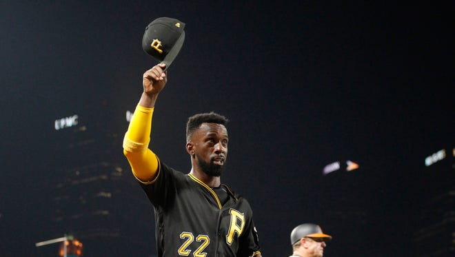 Andrew McCutchen will be a free agent at the end of next season, his 10th with the Pirates.