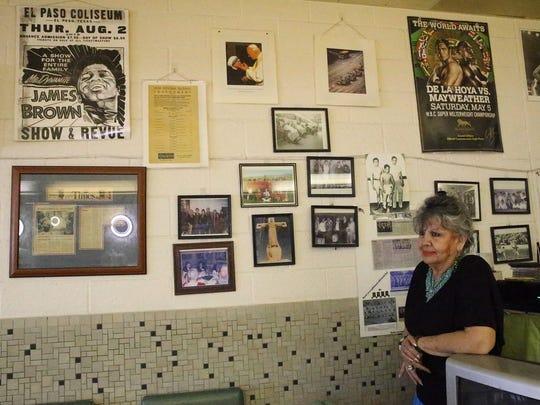Martha Barragan, owner of Fox Plaza Barber Shop with
