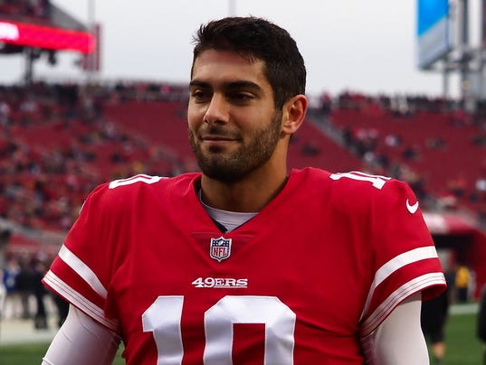 USP NFL: JACKSONVILLE JAGUARS AT SAN FRANCISCO 49E S FBN SF JAC USA CA