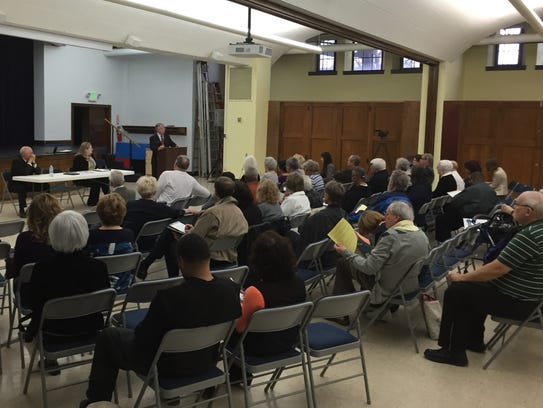 About 50 people attended a fraud prevention forum Tuesday