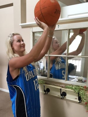 Rylee Hart gears up for March Madness. Check out these tips for the perfect basketball bash.