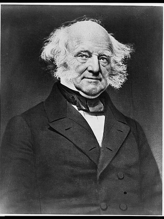 U.S. president Martin Van Buren