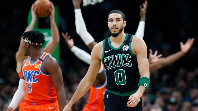 Jayson Tatum was just 16 years old and headed into his junior year at Chaminade Prep in St. Louis when Brown died, and he clearly recalls the protests in his hometown that followed. For coverage of Friday's Celtics game against the Bucks, visit www.telegram.con/sports.