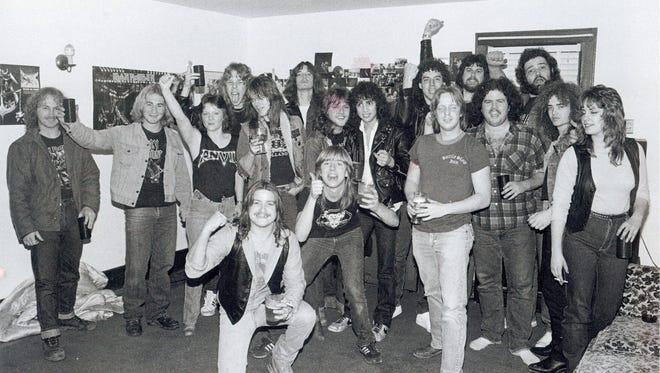 The Old Bridge Metal Militia in 1983.