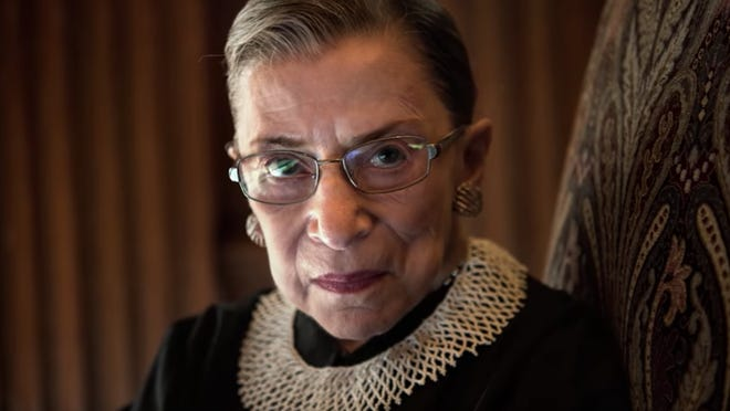 "The Ruth Bader Ginsberg documentary ""RBG"" will be shown Tuesday at Cornell Cinema."