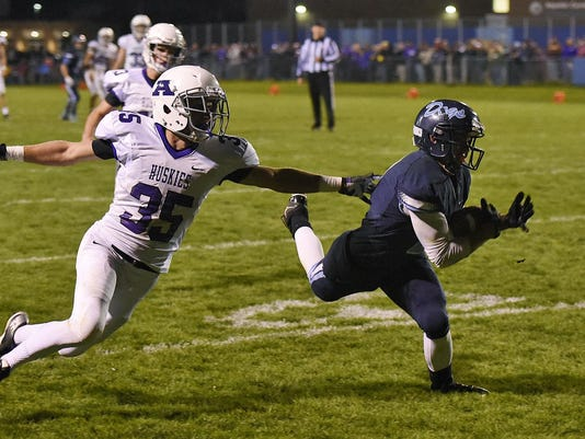 Becker vs. Albany FB 7