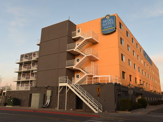 The Siegel Suites Sparks is being renovated on Victorian Square in Sparks.