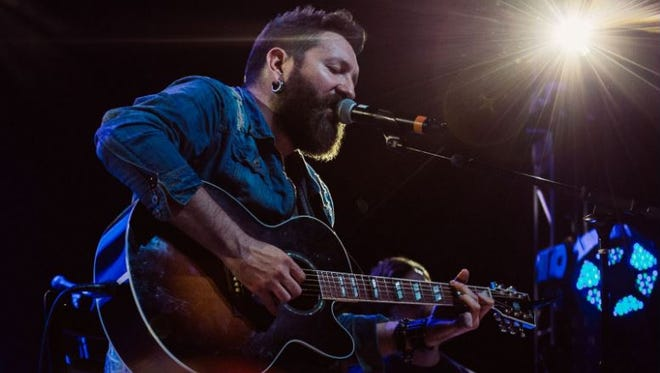 """Nolan Neal, former Hinder front man and contestant on """"The Voice,"""" will perform in Bucyrus on Nov. 18."""