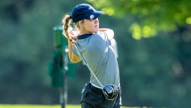 Southern New Hampshire freshman Makyla Lewellen, a Maysville alum, competed in the Penmen Labor Day Classic on Sept. 4, at Hanover Country Club in New Hampshire. She placed eighth in the event.