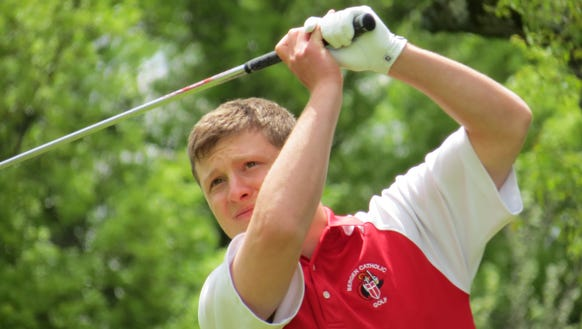 Jimmy Criscione shot even-par 72 to help Bergen Catholic