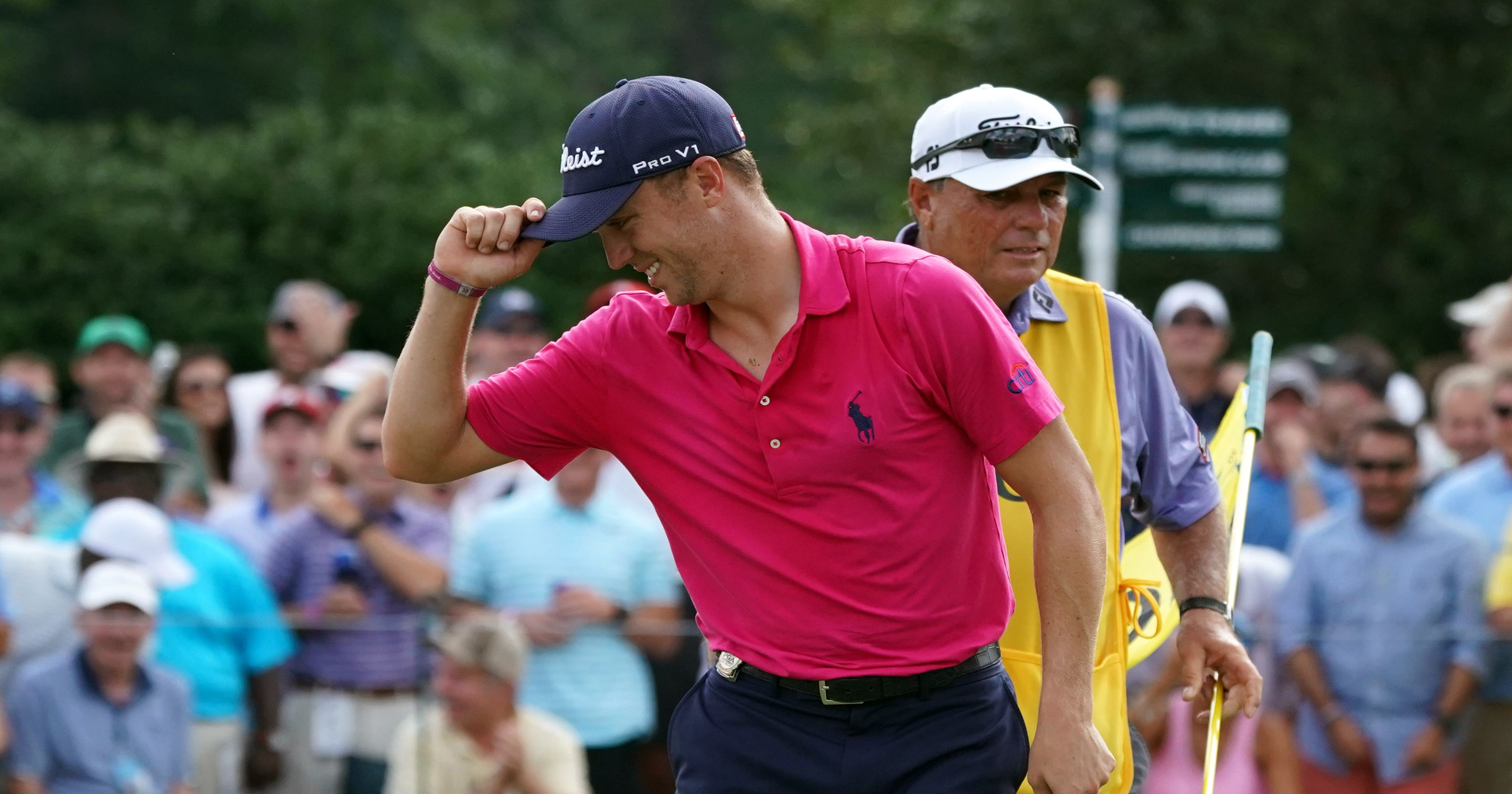 86ae7dba680 No surprise  Justin Thomas takes Player of the Year honors