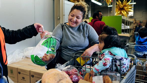 A donation to Second Harvest allows families in need