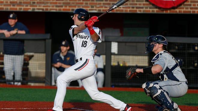 Mason High School product Connor McVey leads the resurgent Cincinnati Bearcats in hitting.