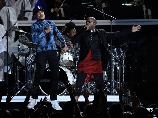 Chance the Rapper joins gospel musician Kirk Franklin