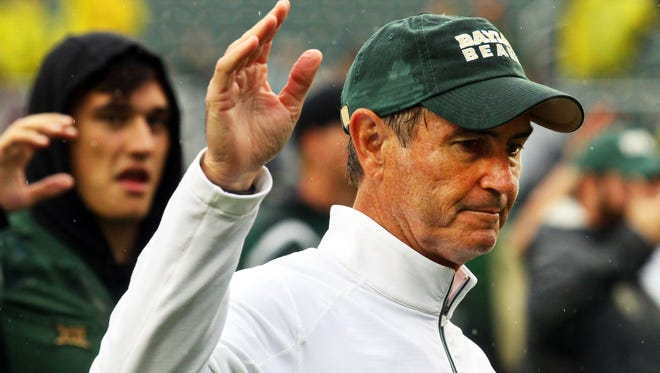 Former Baylor Bears head coach Art Briles.