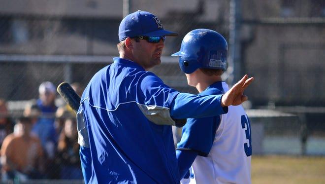 Brevard College baseball coach Matt McCay.