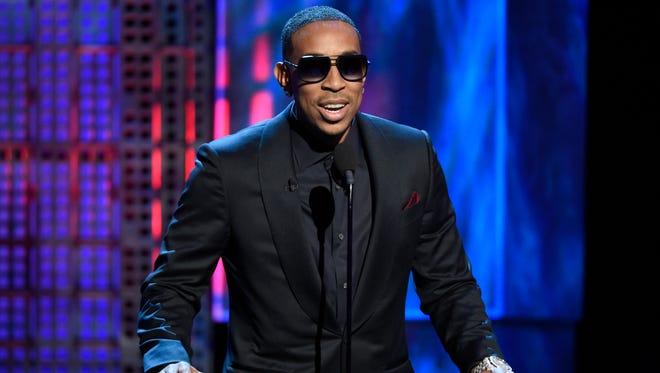 Ludacris speaks at the Comedy Central Roast of Justin Bieber at Sony Pictures Studios, in Culver City, California on March 14, 2015.
