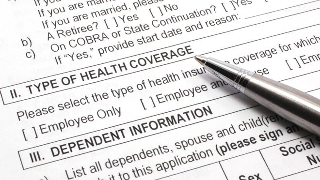 An estimated 5.4 million American adults have become uninsured because of job losses from February to May, according to a new report.
