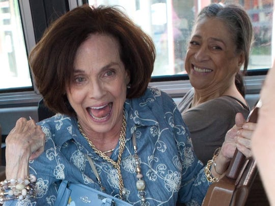 Valerie Harper and co-star Liz Torres who plays her