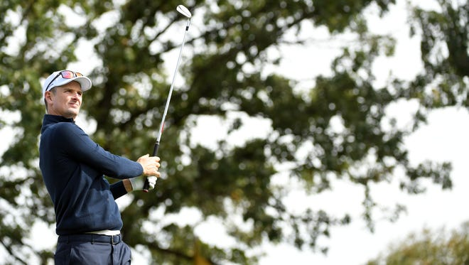 The trees of Hazeltine have special meaning for European Ryder Cup player Justin Rose.