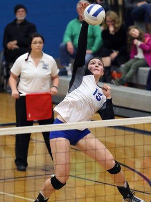 McNary' senior Vanessa Hayes has signed to play volleyball at Division II Alaska Anchorage.
