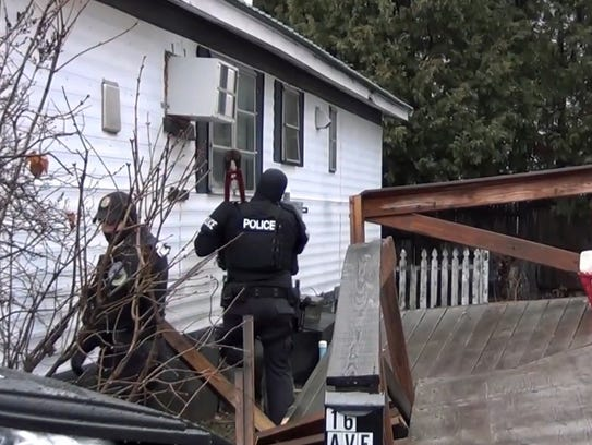 Burlington Police Search 16 Avenue C In Farringtons