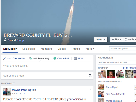 The Brevard County FL. Buy, Sell, or Trade group is