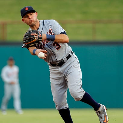 Detroit Tigers second baseman Ian Kinsler