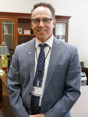 Martin Cox, Superintendent of Schools for Clarkstown Central School District photographed in his office on Wednesday, August 17, 2016.