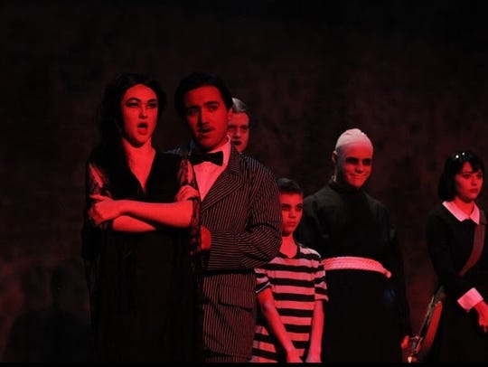 Possum Juniors perform in their production of the musical,