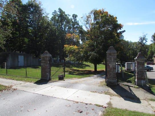 Village Cemetery Gate