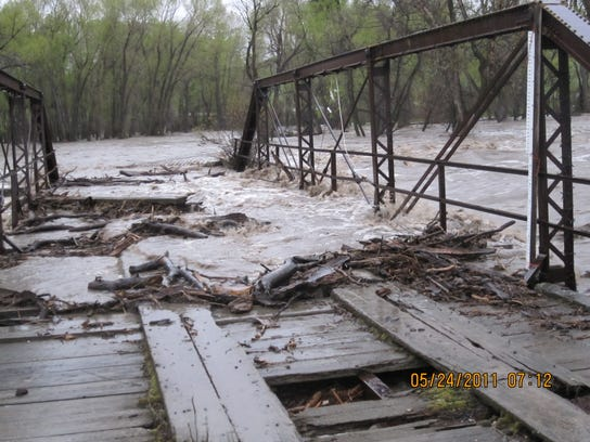 Lewistown area flood