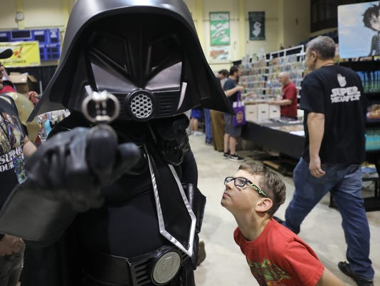 The Garden State Comic Festival came to Mennen Arena in Morris Twp.