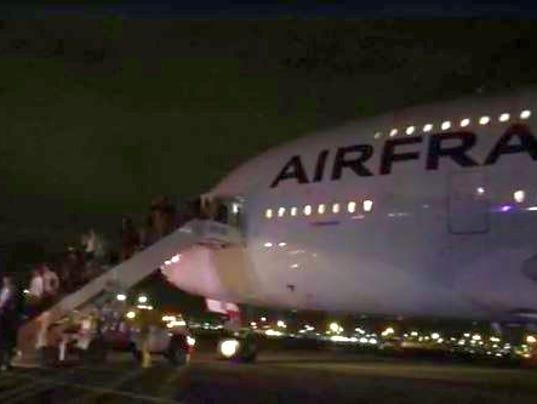 Air France flight diverted