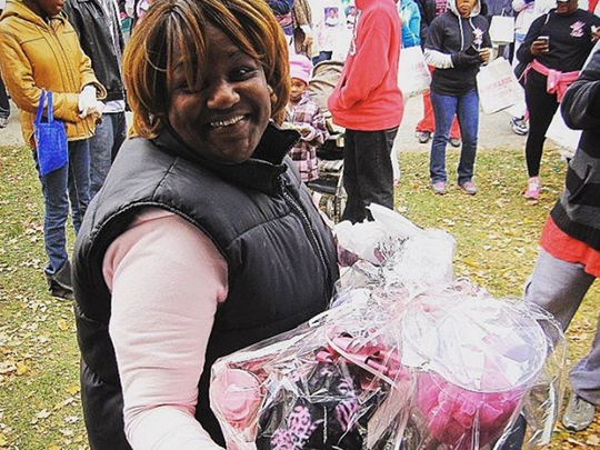 Deonte Burton's mother, Barbara Burton-Malone, died in October 2014 from breast cancer.