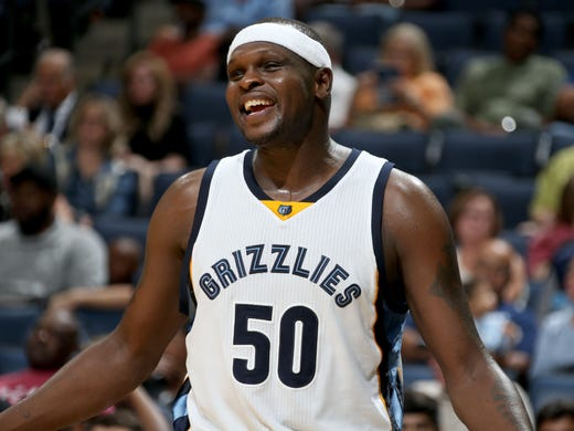 Zach Randolph signed a two-year, $24 million contract