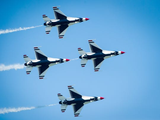 Ocean City Air Show 2020.U S Air Force Thunderbirds Headline 2020 Oc Air Show