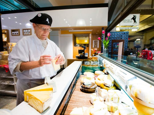 Cowgirl Creamery's Artisan Cheese Shop cheesemonger,