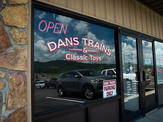 Dan's Trains & Classic Toys in Powell is one of the few hobby shops left in Tennessee that features model trains.